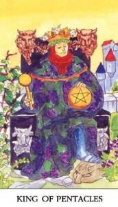 tarot-karte-mala-arkana-kralj-diskova-ili-novcica