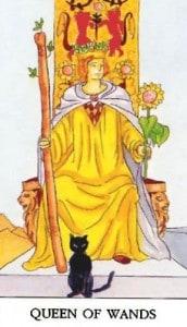 tarot-karte-mala-arkana-kraljica-stapova